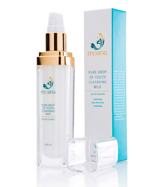 Moana Pure Drop of Youth   Cleansing Milk