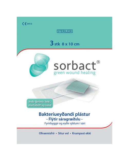 Sorbact_plastur_3stk_8x10cm